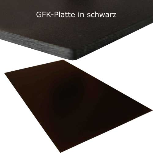 gfk und cfk platten glasfaser gfk platte schwarz 1 0x500x300mm. Black Bedroom Furniture Sets. Home Design Ideas