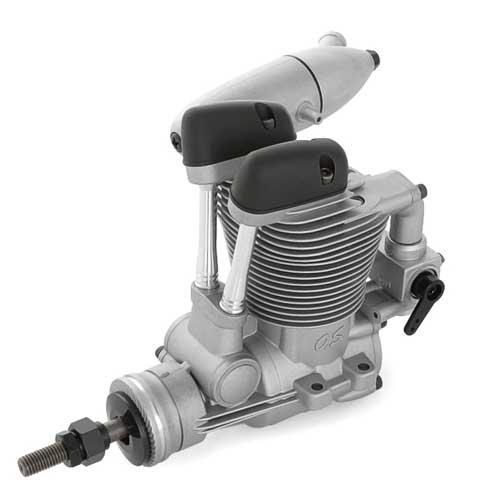 Motor OS-Max FS 62V 4T mit E-4050 Dämpfer