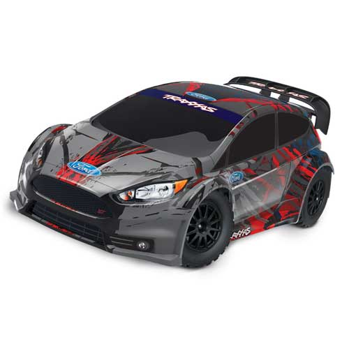 AB Traxxas Ford Fiesta ST Rally Brushed 110 24 GHz DAP