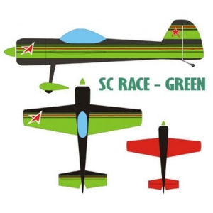 BK Krill-Aircraft Yak 55M 28% Race Green 2200mm
