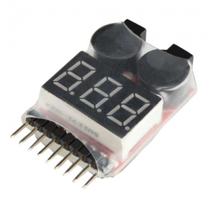 Lipo Alarm RC System 2-8S