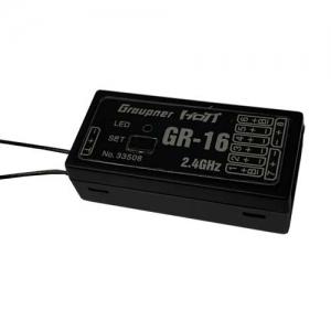 Empfänger Graupner/SJ HoTT GR-16 2,4 GHz DAP