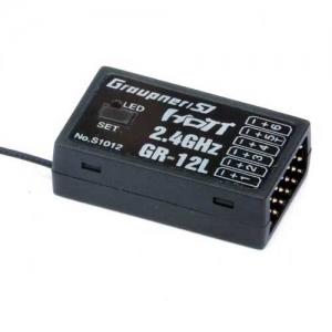 Empfänger Graupner/SJ HoTT GR-12L 2,4 GHz DAP