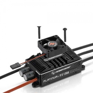 Brushless Regler Hobbywing Platinum Pro 130A HV V4 5-14s BEC 10A