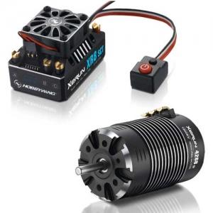 Brushless Combo Hobbywing Xerun XR8 SCT 2-4s Motor 4268-1900kV 1:8 Buggy