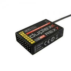 Empfänger Jeti Duplex Rex7 EX 2,4 GHz 200mm Antennen