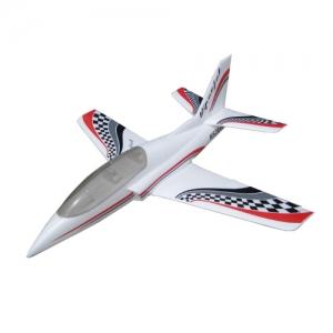 BK Mini Viper Jet Elektro Tomahawk Design weiss 1040 mm