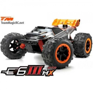 AB Team Magic E6 III HX Monster Truck 4WD Brushless RTR 2,4 GHz